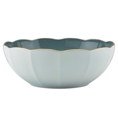 - Marchesa Shades of Teal Serving Bowl by Lenox