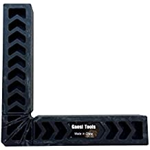 Gaosi Tools 8 Inch Positioning Squares. Clamp-It Assembly Square with Black Color,Set of 4