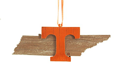 (University of Tennessee Hanging State Shaped Ornament)