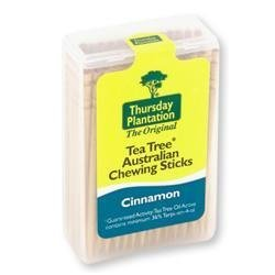 Thursday Plantation Chewing Sticks Cinnamon by Nature's - Mall Plantation