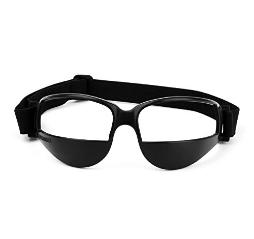 Training Goggles - Springen Sports Dribble Goggles for Basketball Training Aid - Great for Improve Dribbling Skill, Handling Skills, Black One Size, Black