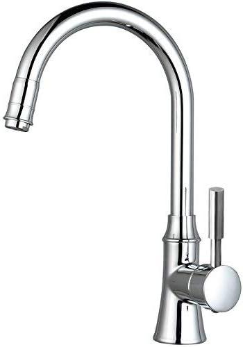 Gulakey 水シェフ利用蛇口は水ブロンドキッチン水の蛇口コールドとホット、Silvermodernシンプルな高級品質保証ホームデコレーションを有効にします