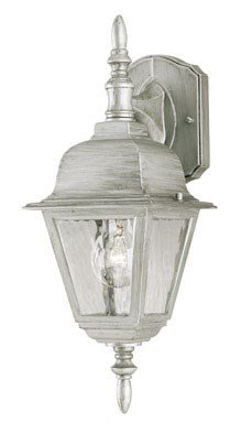 Antique Westinghouse Sconce - Westinghouse Outdoor Wall Lantern Fix A19 16-3/4 In. Antique Silver Finish Bx