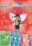 Rainbow Magic The Baby Animal Rescue Fairies Complete Set of 7 Books: Mae the Panda Fairy, Kitty the Tiger Fairy, Mara the Meerkat Fairy, Savannah the Zebra Fairy, Kimberly the Koala Fairy, Rosie the Honey Bear Fairy, Nora the Arctic Fox Fairy ()