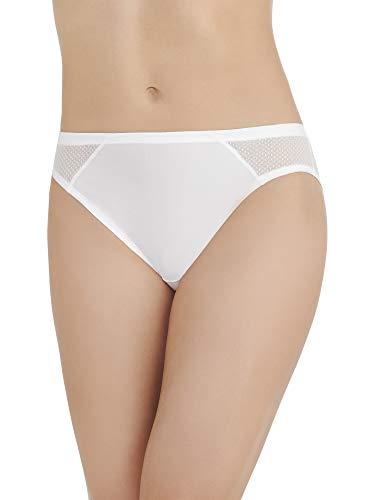 Vanity Fair Women's Cooling Touch Bikini Panty 18215, Star White, Small/5