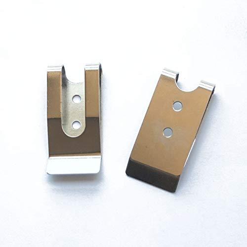 5 Pcs 54x25mm Belt Holster Clip Clasp Spring Hook Buckles Keyring Hardware 2.12