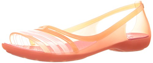 Coral Crocs Mules para Isabellafltsndl Mujer q0npICw