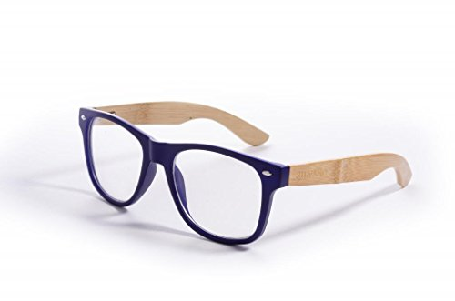 Silvano Wood Clear Frames - Wood Sunglasses Silvano