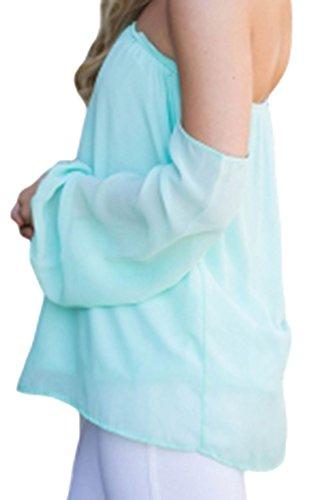 Elsa Steen - Camisas - Básico - Manga Larga - 75 DEN - para mujer azul claro