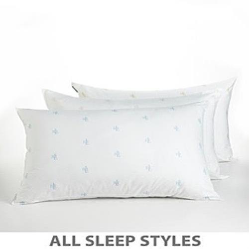 Ralph Lauren Synthetic Fiberfill Extra Firm Support Standard Pillow
