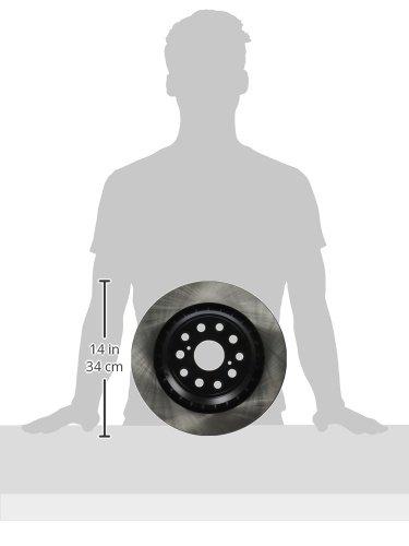 Centric 120.44153 Rear Brake Rotor