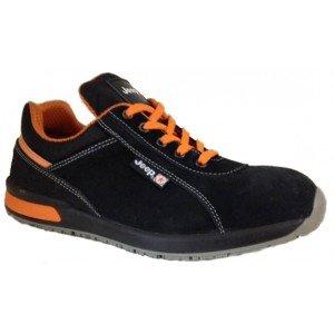 Chaussures de sécurité JEEP COVENTRY NEW velours noir/orange - 3919 - 36