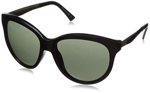 VonZipper Cletus Round Sunglasses,Black Gloss,57.5 ()