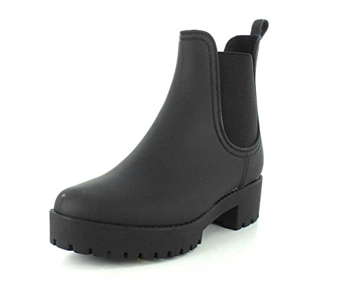 Jeffrey Campbell Women's Cloudy Rain Booties, Black, 5 M US