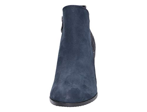 21 Women's Boots Blue 25324 9 Caprice 802 Ankle 9 dIFwIU