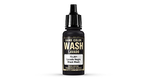 (Vallejo Black Wash, 17ml)