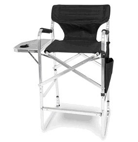 Amazon Com Aluminum 30 Bar Height Directors Chair With Table