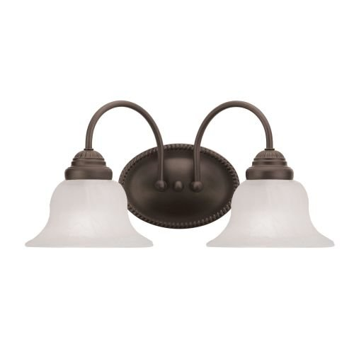 Livex Lighting 1532-07 Edgemont 2-Light Bath Light, Bronze - Edgemont Bath Light