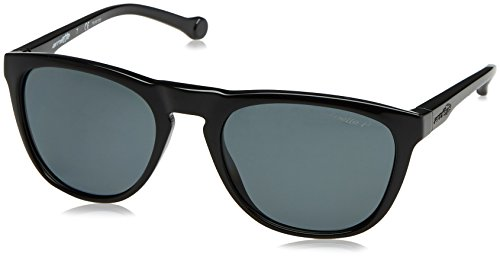 Arnette Moniker Unisex Polarized Sunglasses - 41/81 Gloss Black/Grey by Arnette