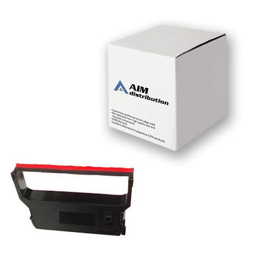 AIM Compatible Replacement for E8900 Black/Red P.O.S. Printer Ribbons (6/PK) - Compatible to Verifone CRM 0023-01 - ()