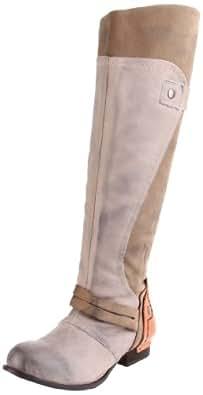 Kelsi Dagger Brooklyn Women's Jayna Tall Riding Boot, Bone, 6.5 M US
