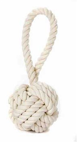 Multipet Nuts for Knots Heavy Duty Rope Dog Toy with Tug 4' Colors Vary