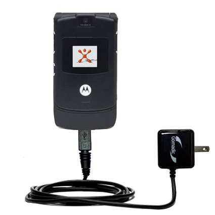 - Gomadic Advanced Rapid Wall AC Charger Compatible with Motorola RAZR V3 - Built Brand TipExchange