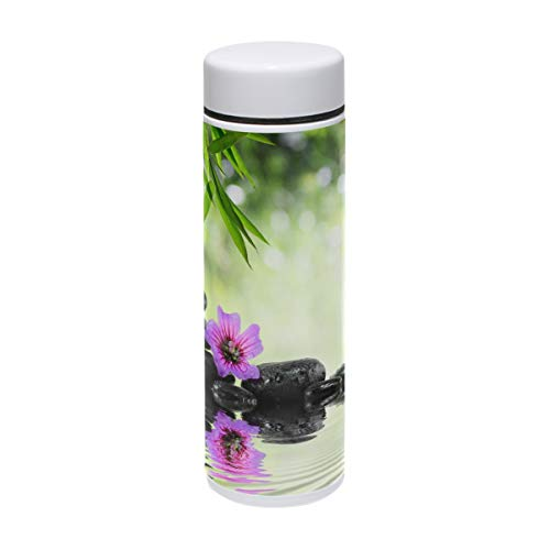 DEYYA Green Spa Thermos Cup Stainless Steel Tumbler Vacuum Insulated Double Wall Travel Cup, 7.5oz by DEYYA