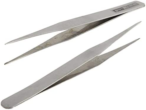 Repair-Kits 6 PCS Stainless Steel TS-10//11// 12//13// 14//15 Straight and Angled Tweezerses