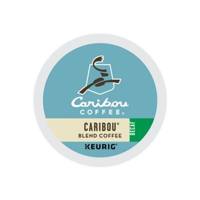 Caribou Coffee, Caribou Blend Decaf, K-Cup Portion Pack for Keurig K-Cup Brewers, 24-Count ()
