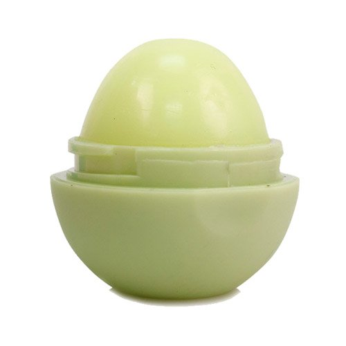 (2 PACK) Romantic Bear Smooth Round Lip Balm , Matt Outer Shell EOS Style (Green)