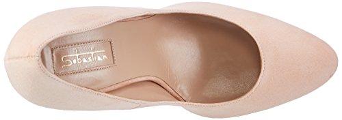 Sebastian S7323, Zapatos De Tacón Mujer, Beige (Beige), 37 EU