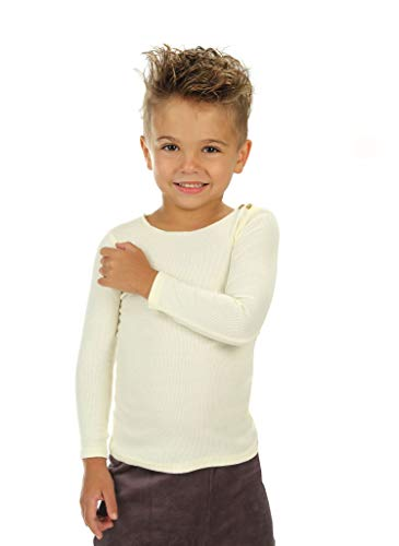 Silky Toes Baby Infant Ribbed T-Shirt Boys Girls (3 Years, -