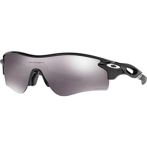 Oakley Men's Radarlock Path (a) Non-Polarized Iridium Wrap Sunglasses, Polished Black, 38 - Black Oakley Radarlock