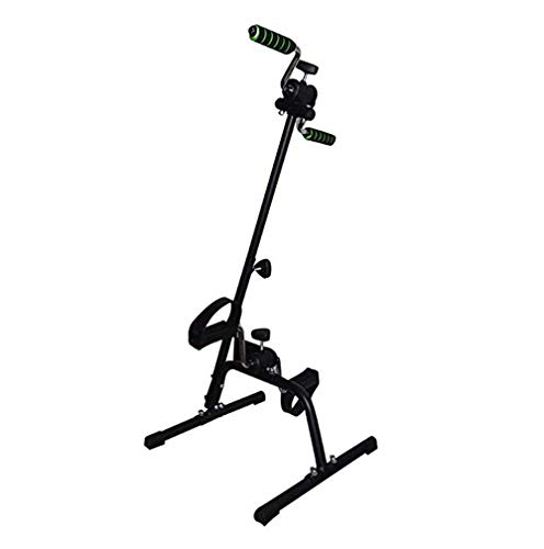 Xinrangxin Rehabilitation Equipment Upper and Lower Limbs Integrated Bicycle, Portable Pedal Trainer Bicycle Arm and Leg Trainer, Knob Adjustment, Indoor Fitness Training Machine (40.54065-96Cm)