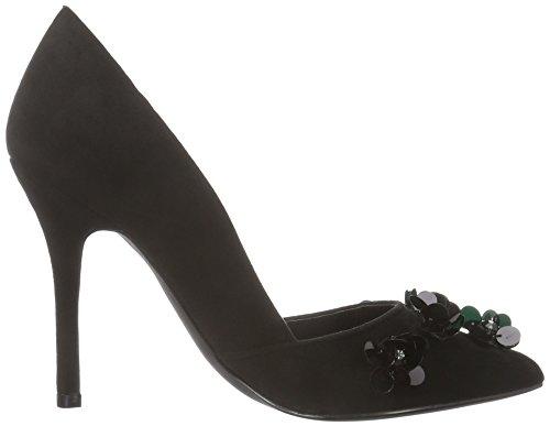 Frauen Black Bernice 01 Black Blink Toe Closed Heels SdYdqzw