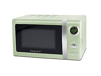 Beper 90.890V - Horno microondas, 700 W de potencia, 5 niveles de potencia