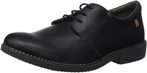 El de Vegan Black Negro Hombre Cordones Derby Naturalista Zapatos para Ng26t rUrwcn7qA