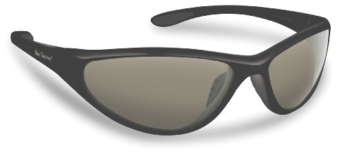 Flying Fisherman 7780BS Key West Polarized Sunglasses, Black Frame, Smoke Lens