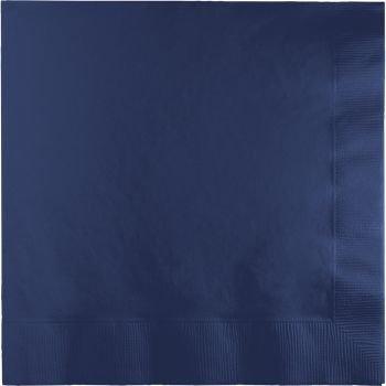 Navy Blue Dinner Napkins - 9