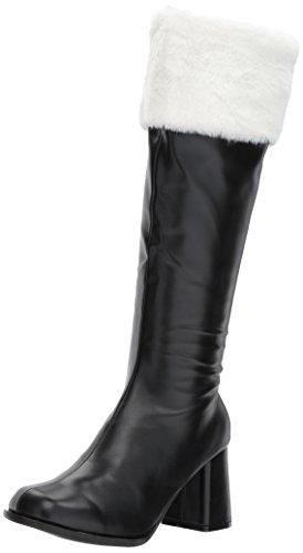Ellie Shoes Women's Gogo-Faux-Fur Boot, Black, 7 US/7 M US