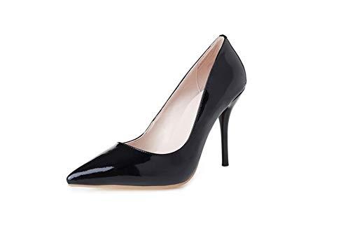 Noir ERR00080 Sandales Femme 36 Compensées EU 5 Noir Aimint X5dwnaqX