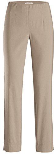 Claro Básico Para Stehmann Pantalón Marrón Mujer Recto wqfx74Yp