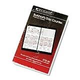 * Burkhart's Day Counter Recycled Desk Calendar Refill, 4 1/2'' x 7 3/8'',