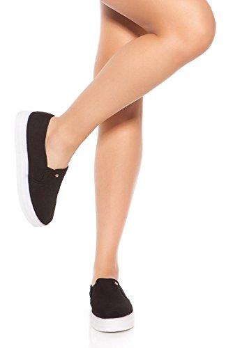 Sportliche Slip-on Sneaker 40