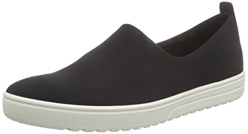 Ecco Footwear Womens Fara Slip-On Loafer, Black/Black, 40 EU/9-9.5 M US