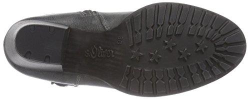 s.Oliver 2542 - botas de material sintético mujer gris - gris (graphite 206)
