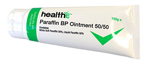 Soft Ointment - healthE - Paraffin BP 50/50 Ointment - Suitable for People with Dry Skin, Sensitive Skin, Chafing and People Of all Ages (100g Tube)