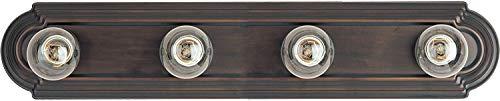 Maxim Light Bath Vanity - Bronze Bath Fixture, Vanity Light Strip, Antique Bath Light. Home Decor Lighting (Oil-rubbed Bronze - 4 -Light) ()