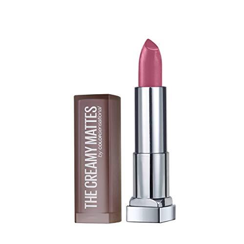 Maybelline New York Color Sensational Pink Lipstick Matte Lipstick, Lust For Blush, 0.15 oz